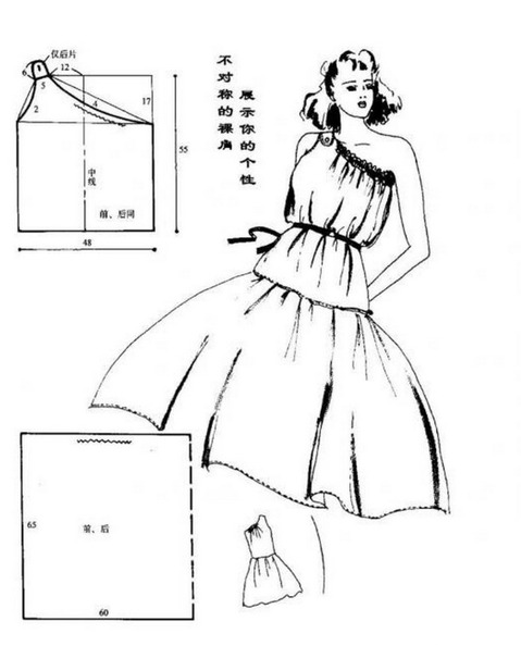 Моделировать выкройки летних платьев, кроить и шить летние платья очень легко. . К тому же пошив летних