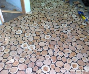 2 cordwood-flooring-by-sunny-pettis-lutz-in-cornville-az-2-step-by-step-instrucitons