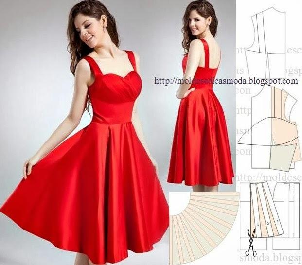 Как сшить платье шикарное 53