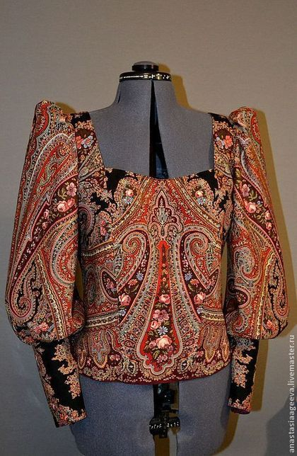 Блузка Из Платков В Челябинске